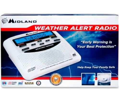Midland NOAA Weather Alert Radio/Alarm Clock WR120B