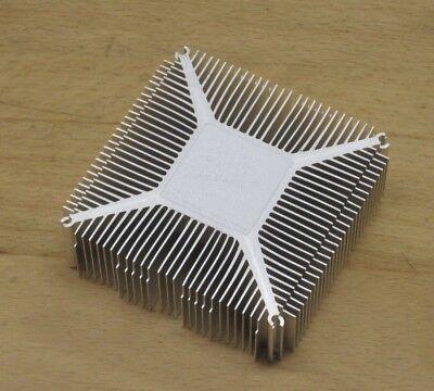 Alu - Kühlkörper / Kühler  - 82 x 78 x 25 mm, AF, Heatsink /  POWER LED,  CPU