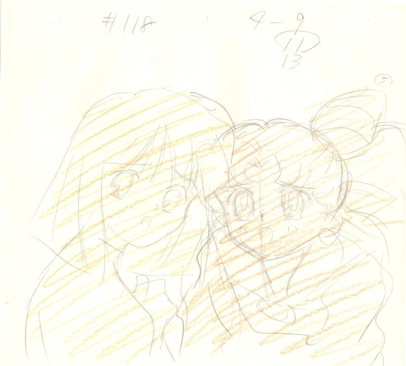 Anime Genga not Cel Sailor Moon #1136
