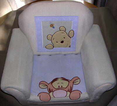 Winnie The Pooh Armchair (Arm Chair) Disney Baby Tigger Toddler Kid Upholstered Disney Arm Chair