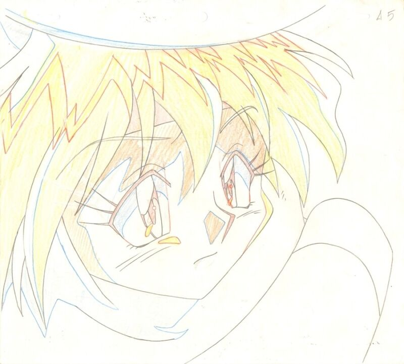 Anime Genga not Cel Slayers #231