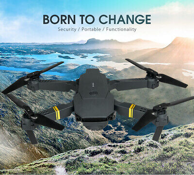Drone X Pro WIFI FPV 1080P HD Camera 3Batteries Foldable Selfie RC Quadcopter US