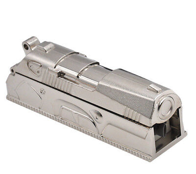 1X Tobacco Rolling Machine Anodized Pistol Cigarette Tube Injector Roller Maker