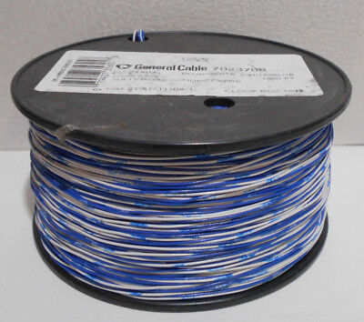 4C 1000ft Cross Connect Telephone Wire Cable 2 Pair - 24 AWG Copper