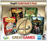 Computer Games - Gogii's Solid Gold 4 Pack PC Games Windows 10 8 7 XP Computer hidden object