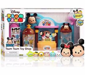 Disney Tsum Tsum Toy Shop Playset, Brand New, Sealed