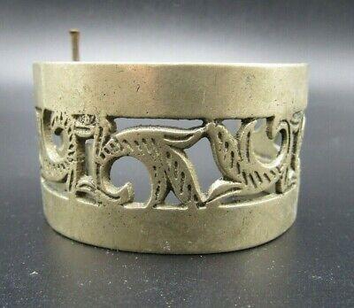 Post Medieval white metal bracelet