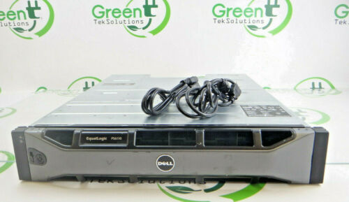 """Dell Equallogic PS6110XS 24-Bay 2.5"""" SFF Chassis w/ 2x 700W PS"""