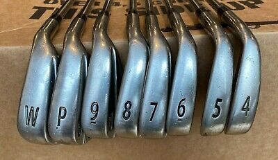 2008 Titleist AP1 Iron Set 4-GW; RH Dynamic Gold S300 Steel Shafts Nice Grips