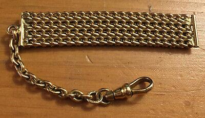 Pocket Watch Vintage 12K Gold Filled Stamped Chain FOB! Ships October 10