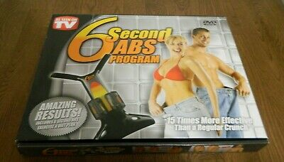 6 Second Abs Workout Machine Equipment 3 Resistance Bands 2 Yellow & 1 Orange for sale  Airdrie