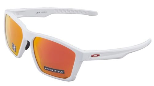 Oakley Targetline Sunglasses OO9397-0358 Matte White | Prizm Ruby Lens
