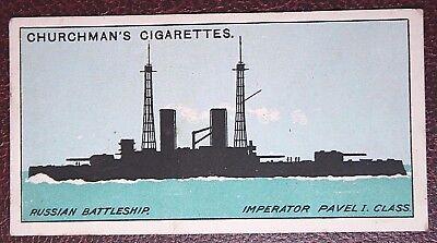 IMPERATOR  Imperial Russian Navy  World War 1  Battleship  Original  Card
