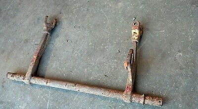 One 1 Point Fast Hitch Rear Rockshaft International Farmall Cub Tractor 1pt