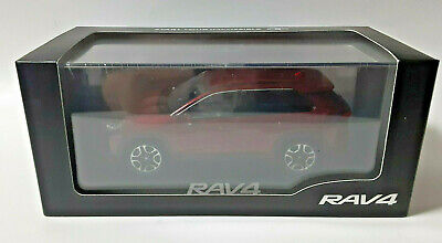 NEW RAV4 Sensual Red Mica 1/30 DIECAST Store Limited COLOR SAMPLE TOYOTA