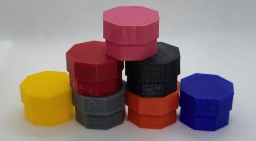 Super Shot Billiards Magnetic Chalk Holder refill pack Fits Predator,Roku,Square