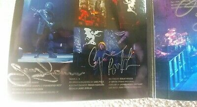 Black Sabbath Autographed The End CD. Signed by Ozzy, Tony, Geezer Brand New