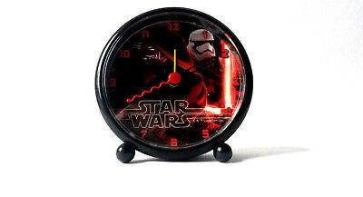 Star Wars * Wecker * 9,5 cm * NEU & OVP * Schwarz mit Motiv: Kylo Ren *
