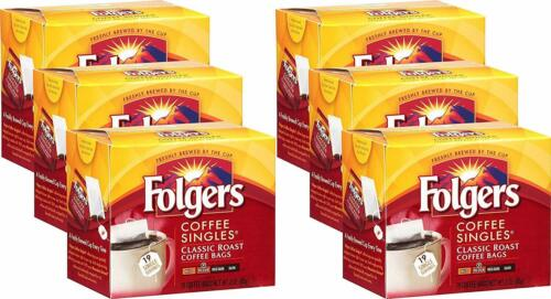 Folgers Coffee Singles Classic Roast Coffee Bags 114 count