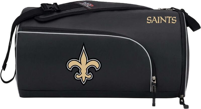 New NFL New Orleans Saints Squadron Premium Duffel Bag / Gym Bag / Training Bag