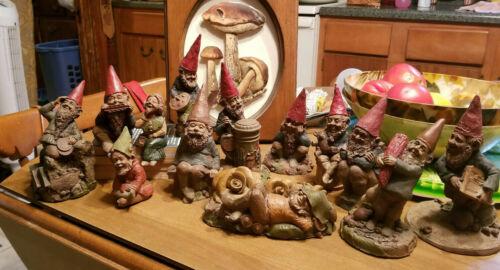Lot of 13 Tom Clark Gnomes - Artist - Shelf Sitters - Gardener - Take a Look