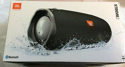 JBL Xtreme 2 Portable Bluetooth Waterproof Speaker (Black) -