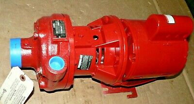 Genuine Bell Gossett 1522-1s 173014lf 1ph 14 Hp 1725 Rpm Pump