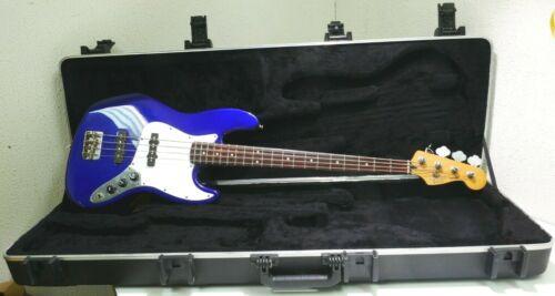 Fender Jazz Bass  Midnight Blue Made In Mexico MN8151467