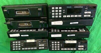 Motorola Spectra Astro Vhf Uhf Remote Mount Radio Control Head Hln6432c