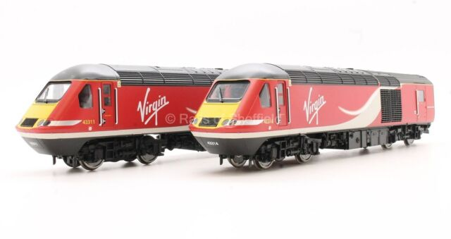HORNBY OO R3390TTS CLASS 43 VIRGIN RAIL EAST COAST 2CAR HST UNIT TTS SOUND *NEW*