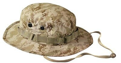 Desert Camo Jungle Hat (Boonie Hat Desert Digital Camo Camouflage Sun Jungle Hat Rothco)