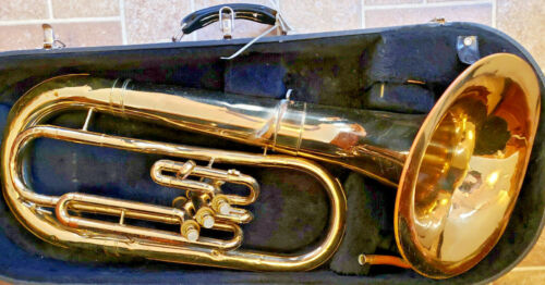 Vintage 1965-1970 Baritone Horn Serial #409672-DAMAGED SEE PICTURES