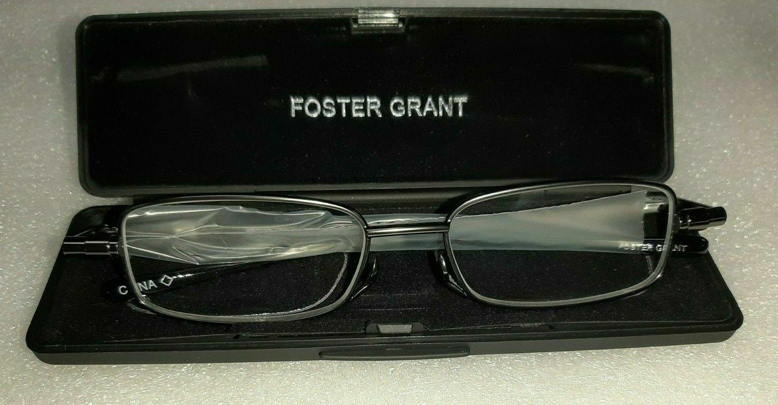 FOSTER GRANT Fold Flat Reader - Gavin Choose Your Strength -