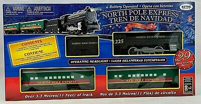 EzTec North Pole Express Christmas Train Set Polar Green Classic Toy Holiday NEW