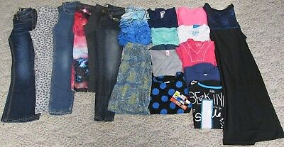 GIRLS SIZE  8 CLOTHES, BACK TO SCHOOL  TOPS, JEANS, DRESSES - Back To School Clothes