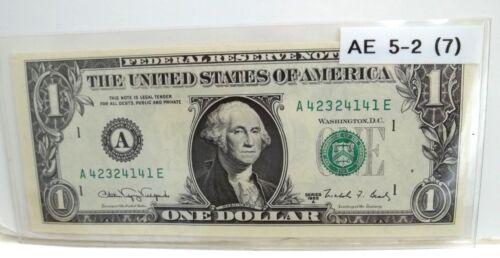 RARE *Web Note* 1988A  AE 5/2 Run 7 - $100 Book Value UNC. - SCARCE - FREE SHIP