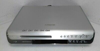 Sony S-Master HCD-FC7 5.1 Channel 5 Disc DVD Player FM Radio - covid 19 (Sony 5 Disc Dvd Player coronavirus)