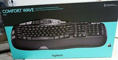 Logitech Comfort Wave Wireless Keyboard,  K350-by Logitech Inc., NIB