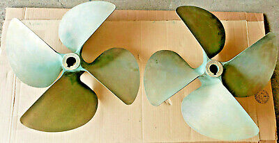 "ACME 19 x 23 Nibral 4 Blade Propeller 1 1/2"" Shaft 1290 &1291"