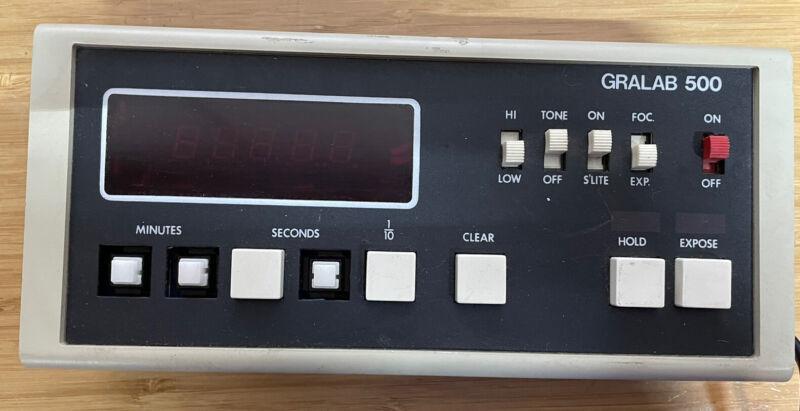 Gralab 500 Darkroom Timer