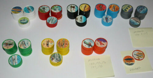 193 Different Jell-O / Hostess - Airplane Collectible Picture Coins - Jello