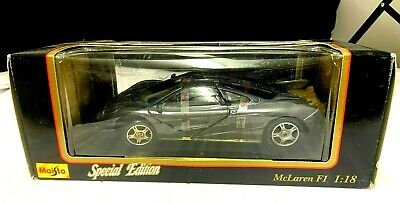 MAISTO SPECIAL EDITION 1:18 DIE CAST CAR McLAREN F1 IN BOX