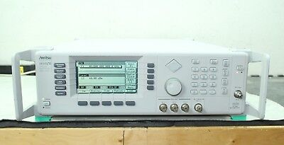 Anritsu 68369anvc Synthesized Sweeper Signal Generator 10 Mhz- 40 Ghz Cald 2b
