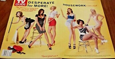 TV Guide Magazine Desperate Housewives Sept/October 2008 SPECIAL Foldout Cover
