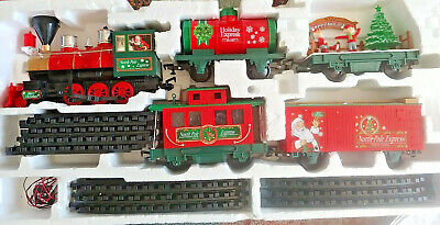 EZTEC G-Gauge North Pole Express Animated Christmas Train Set in Box PARTS ONLY