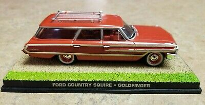 James Bond 007 Goldfinger 1960 FORD COUNTRY SQUIRE 1:43 RED Woody