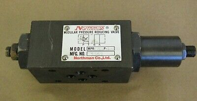 Northman Modular Pressure Reducing Valve Model Mpr-02p-1-20
