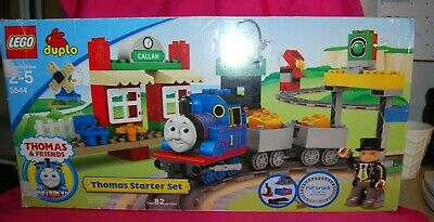 2008 Lego Duplo Thomas The Tank Engine Thomas Starter Set 5544 Used Complete