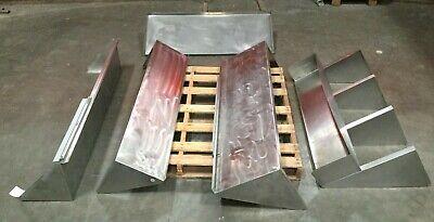 Lot Of 5 Stainless Steel Wall Mount Shelve Restaurant Commercial Kitchen Shelf