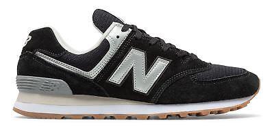 New Balance Mens 574 Shoes Black